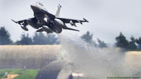 Крушение американского F-16 в Германии: что известно