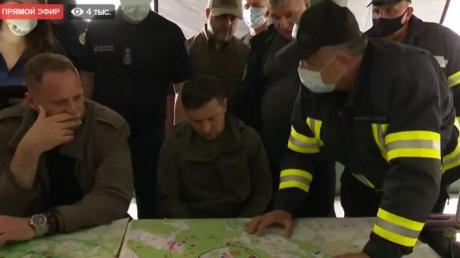 Зеленский и Аваков экстренно прилетели в прифронтовую Луганщину - подробности визита президента
