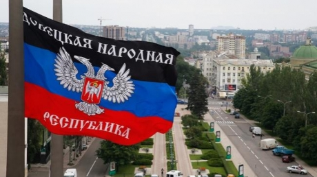 гимн украины, день независимости, украина, оккупация, война на донбассе, днр, донецк, террористы, парад