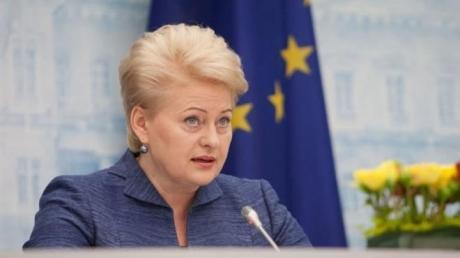 Литва солидарна с Трампом: Грибаускайте жестко заявила, что о снятии санкций против путинской России не может быть и речи
