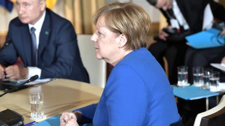 Украина, Россия, Германия, Нормандский саммит, Путин, Меркель, Газ.