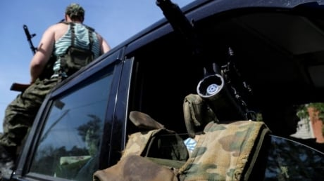 Террористы устроили жесткую атаку на силы АТО на донецком направлении с использованием запрещенной артиллерии