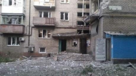 МВД Украины: в результате обстрелов под Донецком погиб один человек, трое ранены