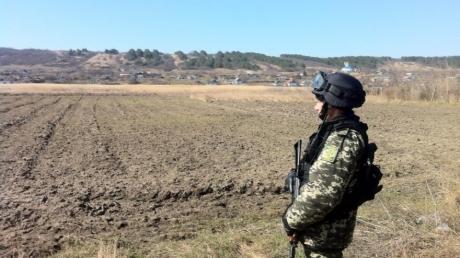 На границе с Приднестровьем обнаружен тайник с минами