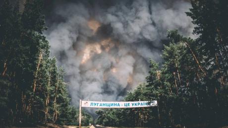"""Геращенко назвал виновника масштабных пожаров на Донбассе: """"Это заметили наши военные"""""""