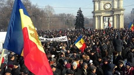 Молдова, политика, общество, протест, Кишинев, полиция