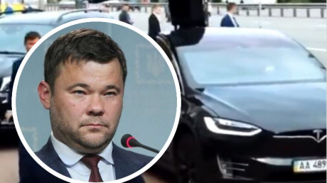 В Киеве подожгли Tesla экс-главы Офиса президента Андрея Богдана