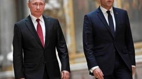 Французские эксперты: по Украине и Сирии Путину и Макрону не удастся договориться