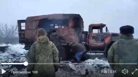 """Мощный обстрел на передовой Донбасса: взорван военный """"ЗИЛ-131"""", есть раненые"""