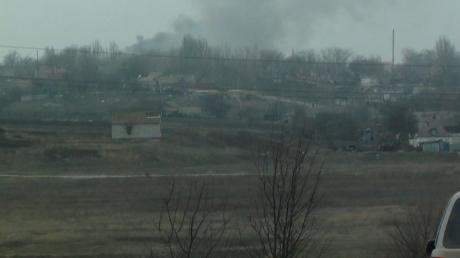 """Полк """"Азов"""": В бою в Широкино уничтожен вражеский танк"""