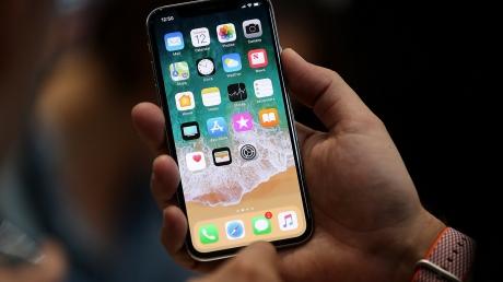 iPhone X, Apple, шумы, смартфон, патч