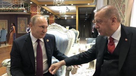 Взгляд Эрдогана на встрече с Путиным красноречиво описал, что турецкий президент думает о переговорах