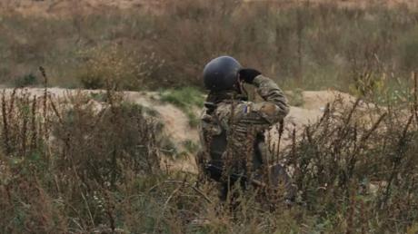 Террористы более 30 минут обстреливали позиции ВСУ у Лебединского, детали