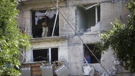 МВД: в Авдеевке в результате обстрела погибла женщина