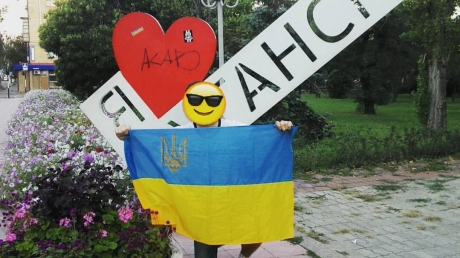 """Луганск – это Украина: под носом у главаря """"ЛНР"""" устроили проукраинскую акцию"""
