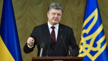 Петр Порошенко встретился со спецназом МВД, который первым стал на защиту целостности Украины в 2014 году