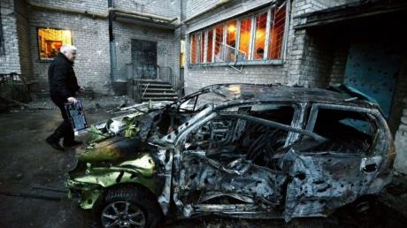 Хроника боевых действий в Донецке 02.03.2015 и главные события дня