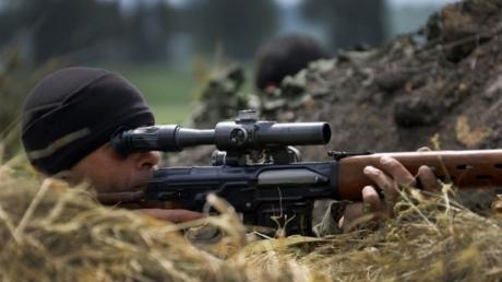 украина, вона на донбассе, армия россии, снайпер, днр, лнр, ато