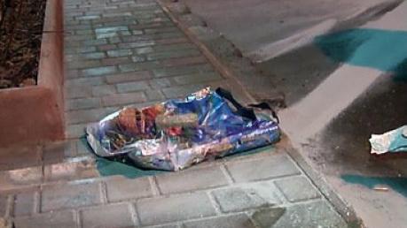 В центре Одессы нашли пакет со взрывчаткой