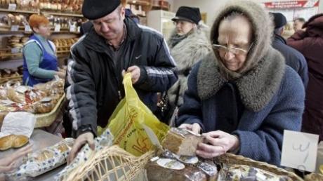 В Киеве ограничивают продажу социальных продуктов
