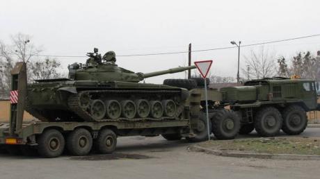Выборы в Беларуси: на въезде в Минск зафиксировали танки и большое количество военной техники