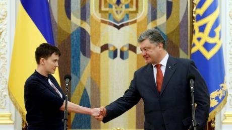 Надежду Савченко хотят лишить звания Героя Украины