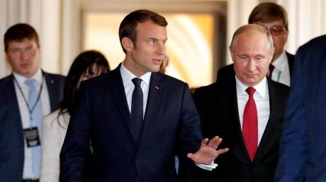 Стало известно, о чем будут говорить Путин и Макрон, – громкие подробности
