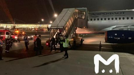 Новое происшествие с самолетом Superjet-100 в Шереметьево: подробности ЧП и фото
