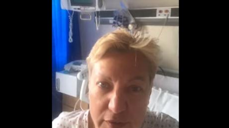 Экс-глава НБУ Гонтарева срочно обратилась к украинцам прямо с больничной койки – кадры
