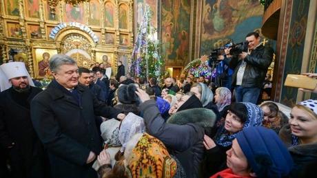 """""""Правду не спрячешь"""", - Порошенко в Виннице напомнил Москве о ее подписанном Сталиным """"томосе"""""""