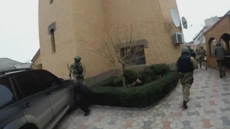 СБУ обнародовала видео задержания ДРГ из России