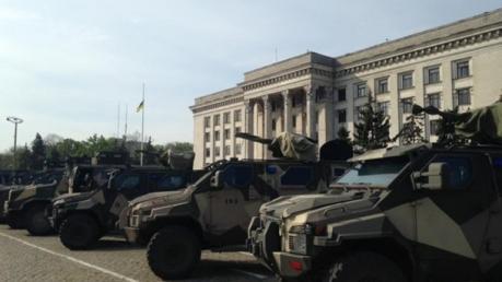СБУ: В Одессе сепаратисты готовились применить оружие против жителей города на 2 мая