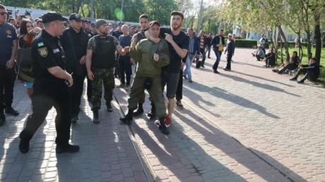 годовщина 2 мая, одесса, куликово поле, правый сектор, драка, происшествия, фото, украина