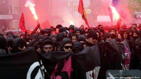 Гамбург, Германия, новости Германии, мировые новости, беспорядки