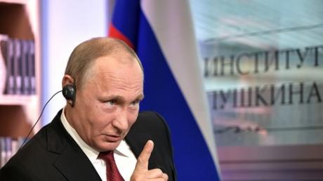 """""""Азм есть царь!"""" - соцсети """"порвал"""" очередной """"перл"""" Путина о планах стать царем"""