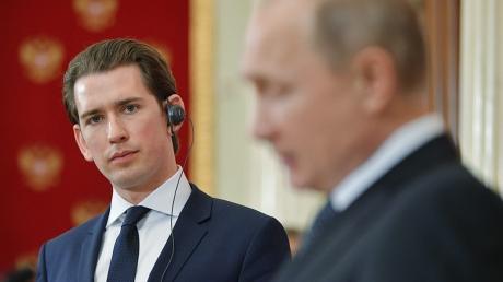 украина, россия, австрия, сирия, северный поток - 2, транзит газа, война в сирии, война на донбассе, путин, курц, встреча, переговоры