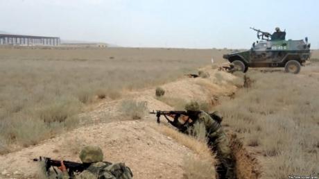 Ожесточенные бои в Нагорном Карабахе. Хроника событий 13.04.16