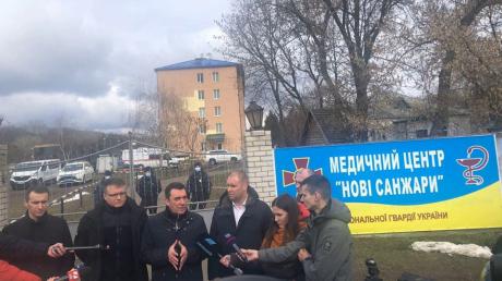 """""""Это профессионалы"""", - секретарь Совбеза Данилов сказал, кто ответственен за беспорядки в Новых Санжарах"""
