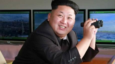 Лидер КНДР Ким Чен Ын выразил готовность нанести мощный ядерный удар по Южной Корее и США
