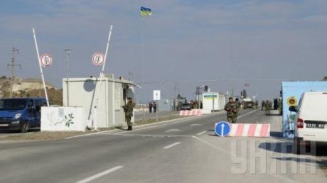 Ночные взрывы вынудили Новотроицкое КПВВ приостановить работу