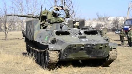 Оккупант что-то прячет: под Горловку боевики стянули вооружение для ликвидации беспилотников