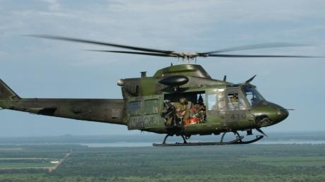 инднезия, вертолет