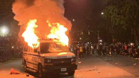 флойд, сша, бруклин, нью-йорк, протесты, погромы