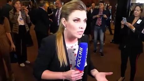 """Скандал со Скабеевой в ПАСЕ набирает обороты: """"За то, что я вытолкнул это существо из кадра, извинений не ждите"""""""