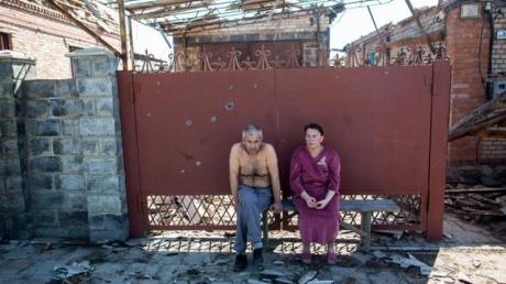 480 семей в Донецкой области остались без крова в результате боевых действий