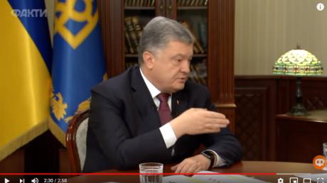 Порошенко рассказал о срочном телефонном звонке Путину ночью: в Сети опубликовано видео