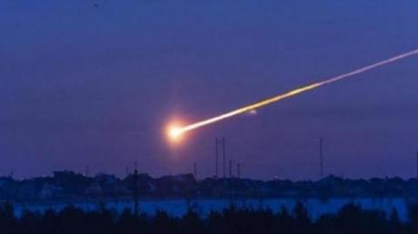 Кадры уникального падения метеоритоподобного объекта в Подмосковье: имеются пострадавшие