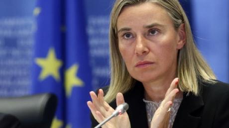 Могерини: ЕС поддерживает Украину на ее пути к реформам и миру