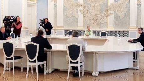 Переговоры контактной группы по Донбассу начались в Минске