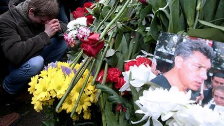 В Вильнюсе проходит шествие в память Бориса Немцова